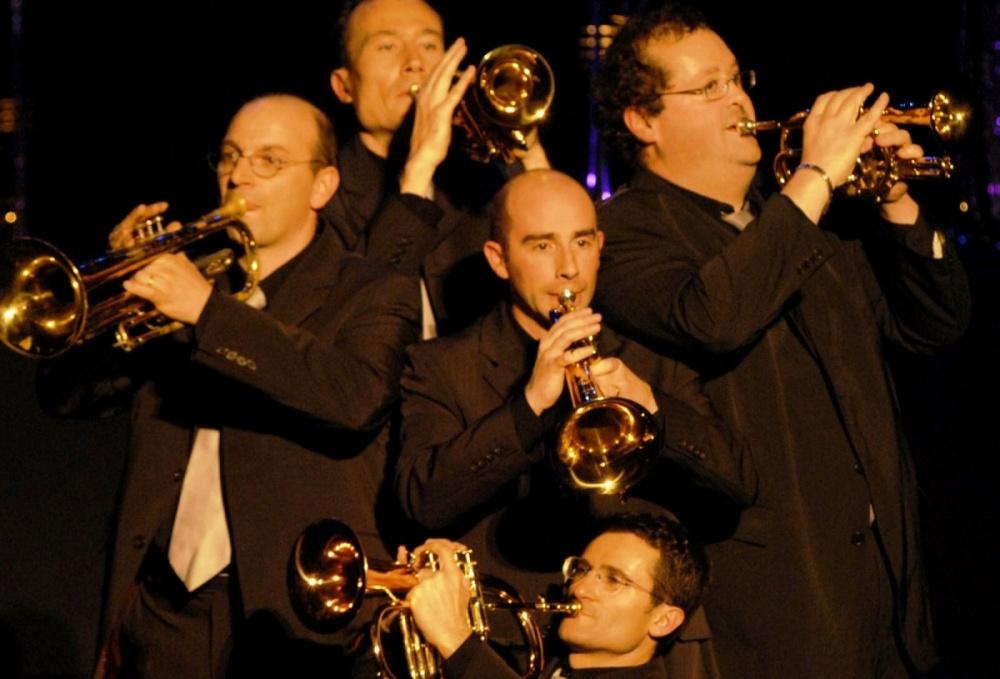Photo de l'ensemble Les Trompettes de Lyon