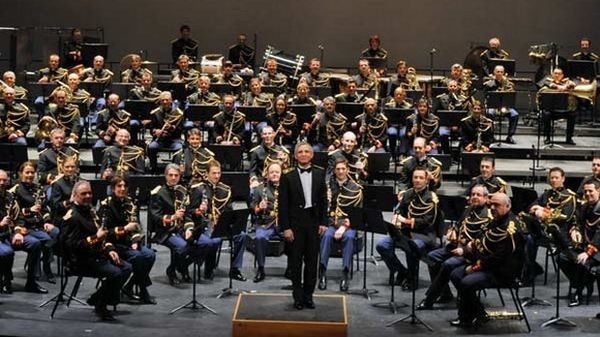 Photo de l'orchestre de la Garde Républicaine