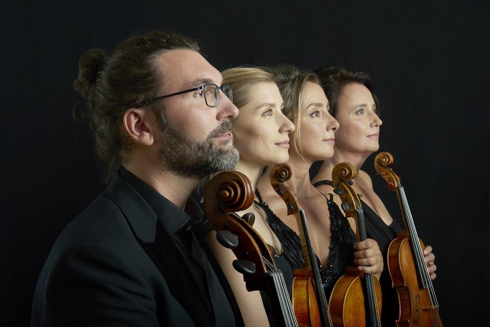 Photo du Quatuor Psophos