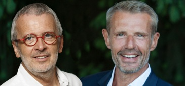 Lambert Wilson et Bruno Fontaine